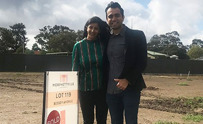 Why Vivek & Neha Are Choosing To Build At Morphettville
